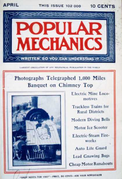 Popular Mechanics - April, 1907