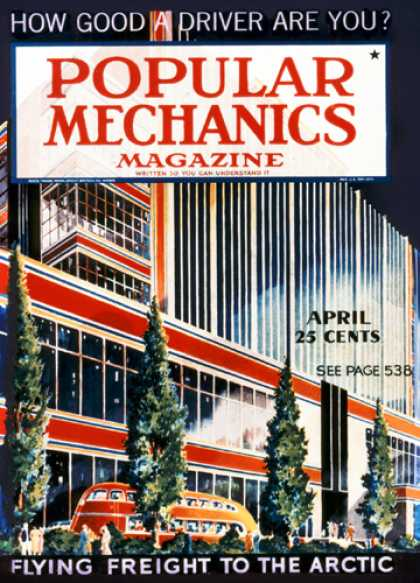 Popular Mechanics - April, 1937