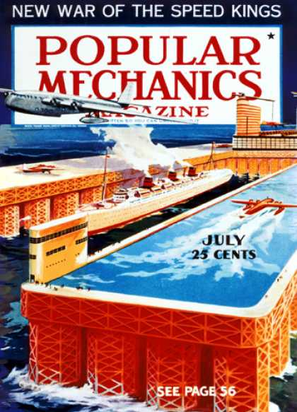 Popular Mechanics - July, 1937