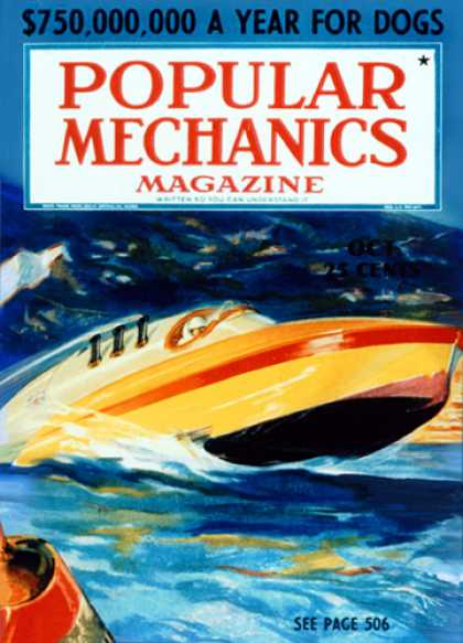 Popular Mechanics - October, 1937