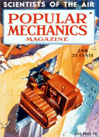 Popular Mechanics - January, 1938