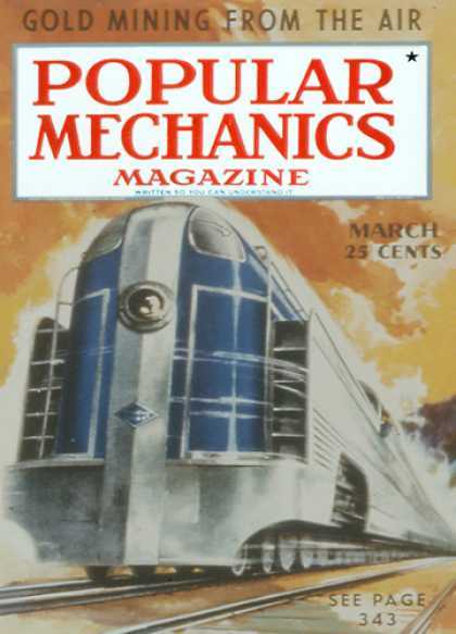Popular Mechanics - March, 1938