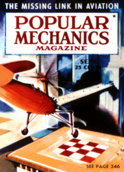 Popular Mechanics - September, 1938
