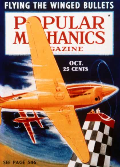 Popular Mechanics - October, 1938