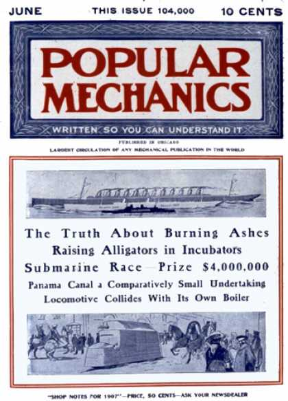 Popular Mechanics - June, 1907