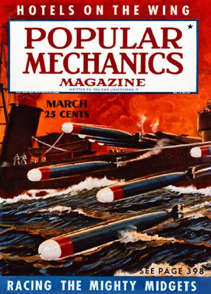 Popular Mechanics - March, 1939