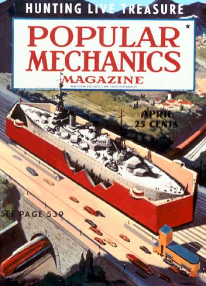 Popular Mechanics - April, 1939
