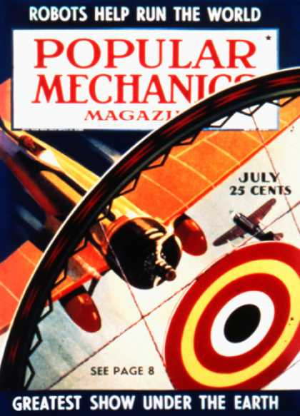 Popular Mechanics - July, 1939