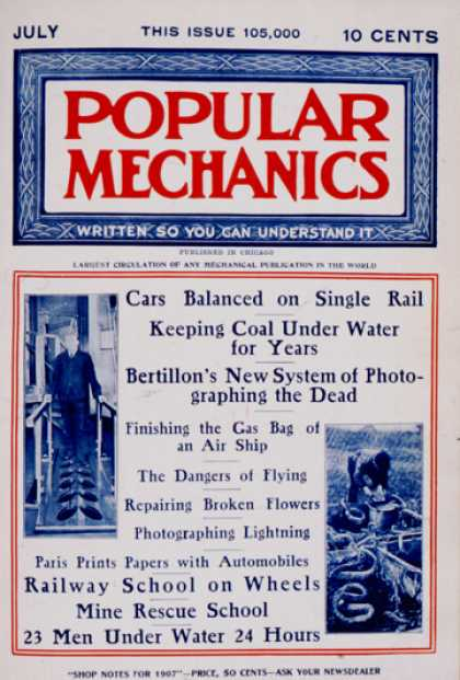Popular Mechanics - July, 1907