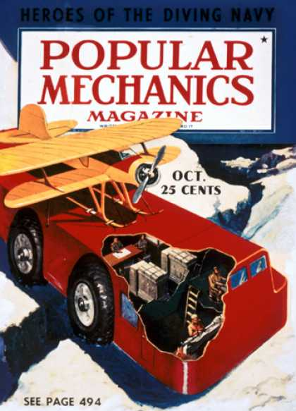 Popular Mechanics - October, 1939