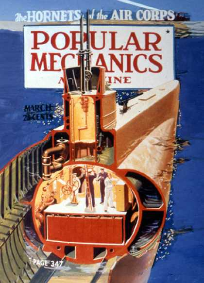 Popular Mechanics - March, 1940