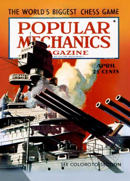 Popular Mechanics - April, 1940
