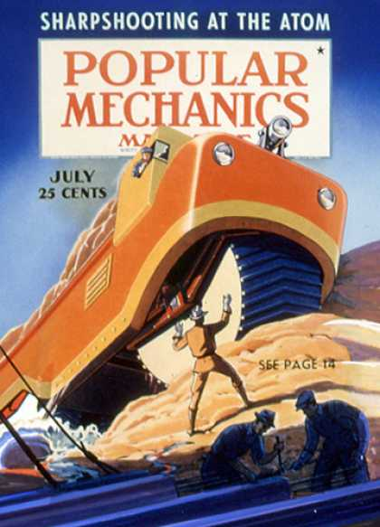 Popular Mechanics - July, 1940