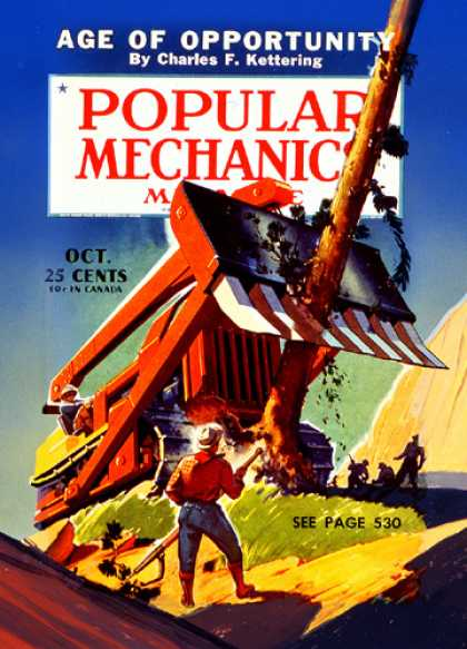 Popular Mechanics - October, 1940