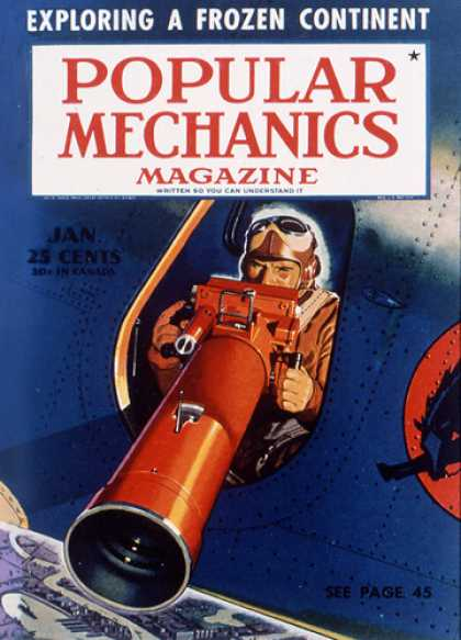 Popular Mechanics - January, 1941