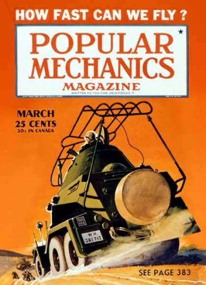 Popular Mechanics - March, 1941