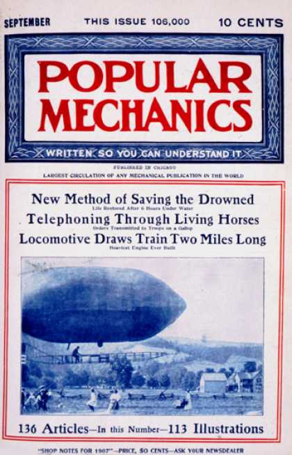 Popular Mechanics - September, 1907