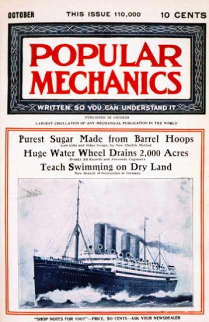 Popular Mechanics - October, 1907