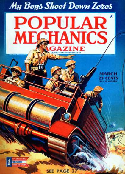 Popular Mechanics - March, 1943
