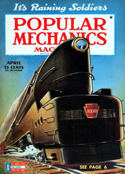 Popular Mechanics - April, 1943