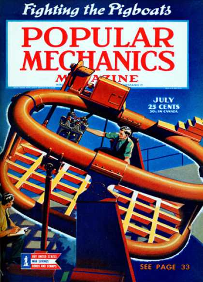 Popular Mechanics - July, 1943