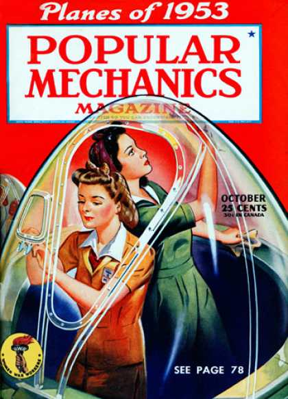 Popular Mechanics - October, 1943