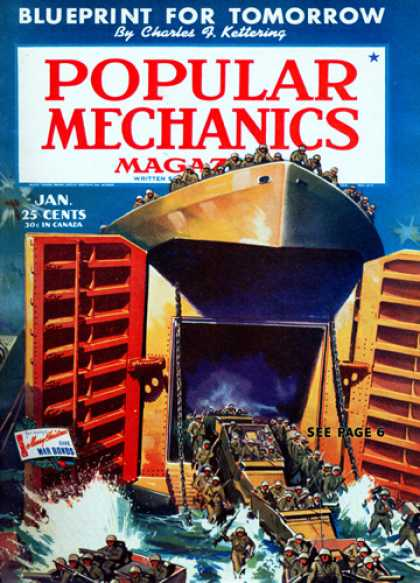 Popular Mechanics - January, 1944