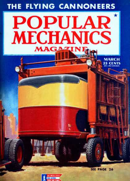 Popular Mechanics - March, 1944