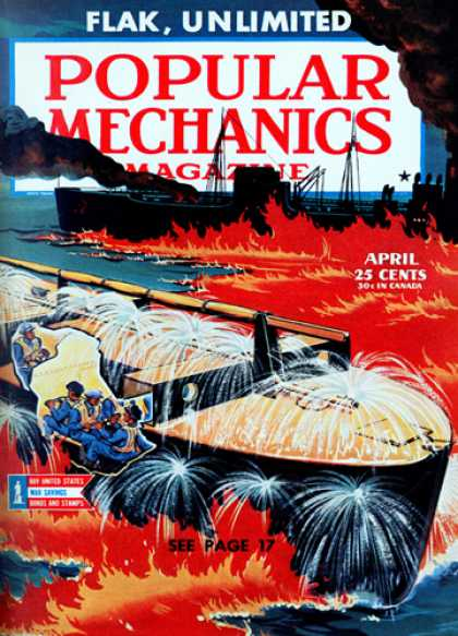 Popular Mechanics - April, 1944