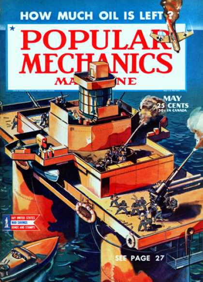 Popular Mechanics - May, 1944