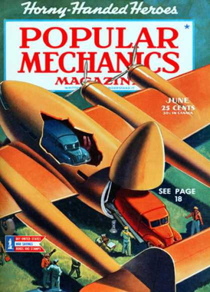 Popular Mechanics - June, 1944