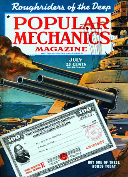 Popular Mechanics - July, 1944