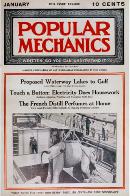 Popular Mechanics - January, 1908