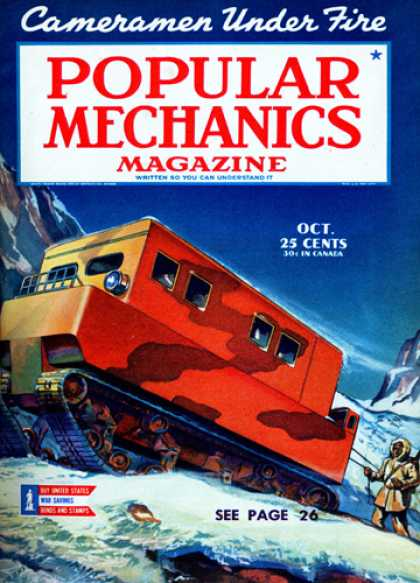 Popular Mechanics - October, 1944