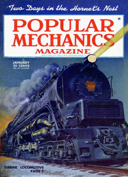 Popular Mechanics - January, 1945