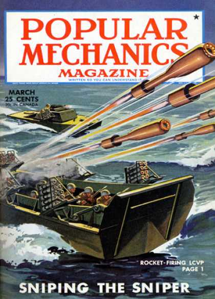 Popular Mechanics - March, 1945