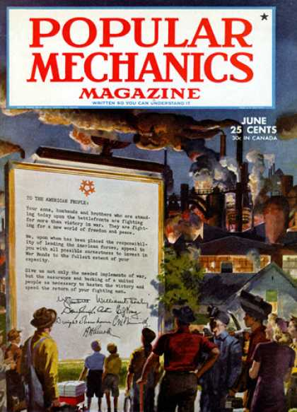 Popular Mechanics - June, 1945