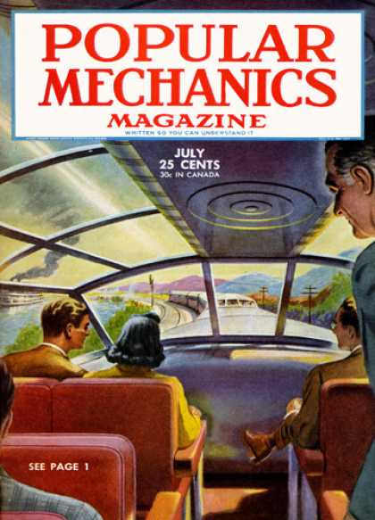 Popular Mechanics - July, 1945