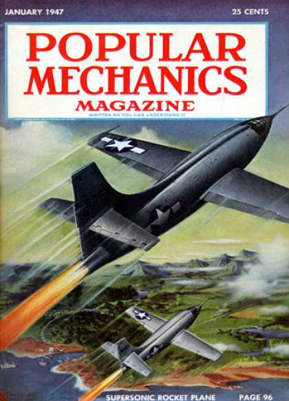 Popular Mechanics - January, 1947