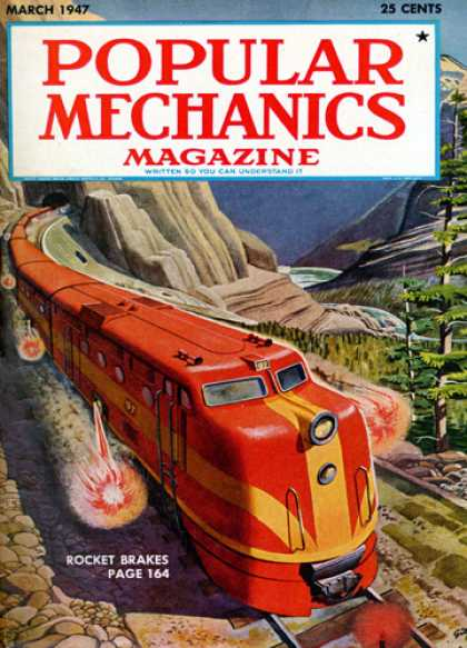 Popular Mechanics - March, 1947