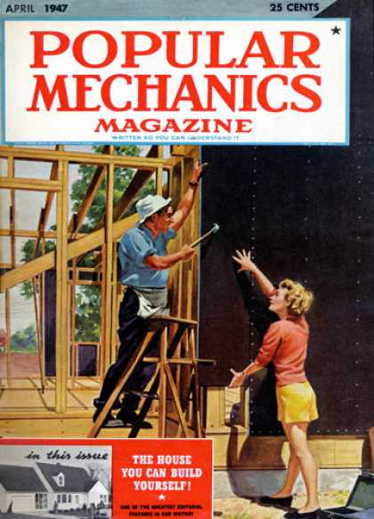 Popular Mechanics - April, 1947