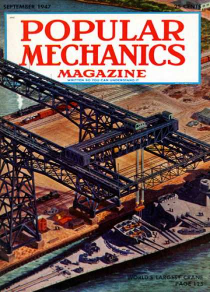 Popular Mechanics - September, 1947