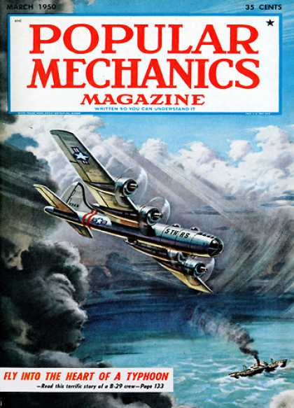 Popular Mechanics - March, 1950