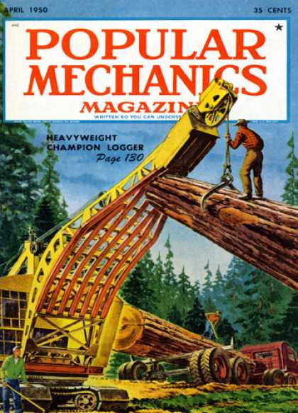 Popular Mechanics - April, 1950