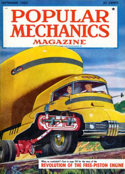 Popular Mechanics - September, 1950