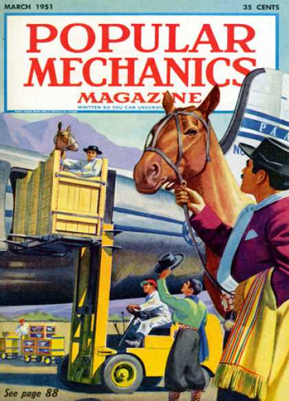 Popular Mechanics - March, 1951