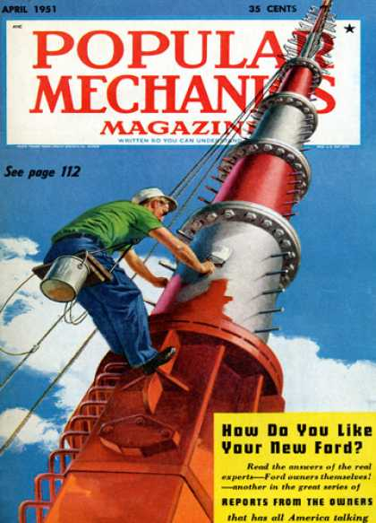 Popular Mechanics - April, 1951