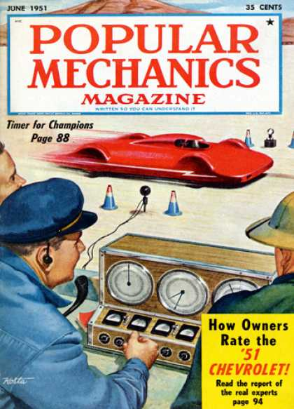 Popular Mechanics - June, 1951