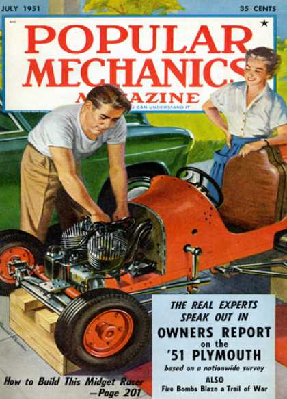 Popular Mechanics - July, 1951