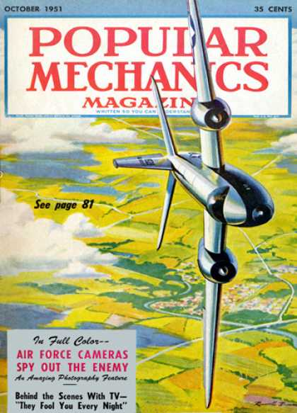 Popular Mechanics - October, 1951